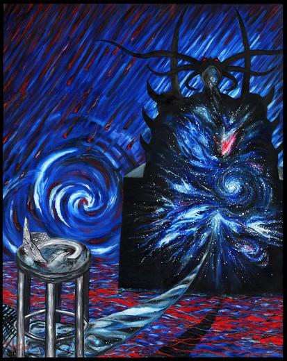 Rêve du Graal - - Cyril Carau - www.abstraisme.free.fr