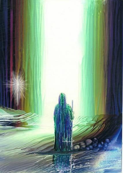 Mnifestation du caché (épiphane) - (Cinlight_1200- innerlight) - www.encaustic.com