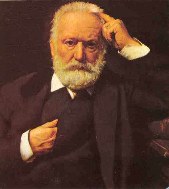 description physique de victor hugo