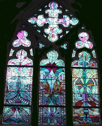 Vitraux de l'Eglise St-Maximin de Metz