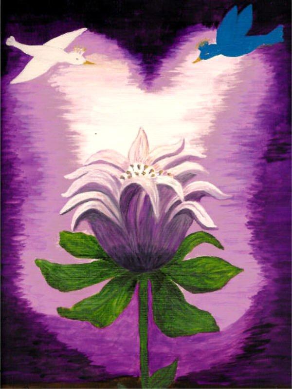 La fleur d'espérance